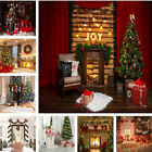 Christmas Party Backdrop New Year Decor Background Photography Studio Props