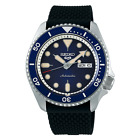 Seiko Five SRPD93 Automatic Watch 100 Meter Blue Dial USA Model