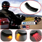 Wireless DC 12V LED Motorcycle Helmet mount Turn Signal Stop Brake Running Light