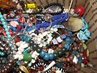 HUGE LOT A OF 12LBS GLASS  STONE BEADS FOR HARVEST  MAKING JEWELRY LQQK