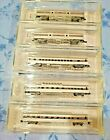 Z MICRO TRAINS LINE AMTRAK RAILROAD PASSENGER GROUPING W PLASTIC CASES