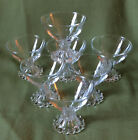 7 Anchor Hocking Boopie Glasses/Sherbets ~ MINT