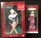 2 MARILYN MONROE Christmas Ornaments