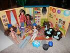 LIV doll spin master my room foldout carry case DOLLS WIGS CLOTHES SHOES LOT