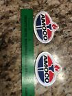 2 AMOCO BRAND GAS / OIL RELATED PATCH 73Y2