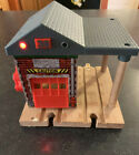 Thomas and Friends SODOR FIRE STATION 36 Engine Company Wood Wooden Sounds WORKS