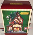 Lemax Christmas Village Pierre's Toy Shop Porcelain Lighted Building