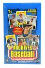 2018 Topps Archives Baseball Hobby Box From A Sealed Case
