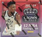2018 19 Panini Crown Royale Basketball Sealed Hobby Box