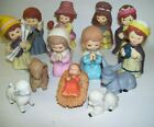 Vintage Enesco Nativity Childs Set of Thirteen