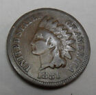 1881 P Indian Head Cent Penny AG OR BETTER FREE SHIPPING
