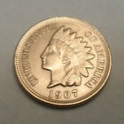 1907 P Indian Head Cent Penny AG OR BETTER FREE SHIPPING