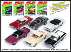 Johnny Lightning 6 New 1 64th Diecast Cars Classic Gold Set B Made By Auto World