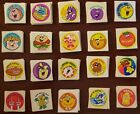 20 Vintage Trend scratch and sniff stickers