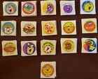 16 Vintage Trend scratch and sniff stickers
