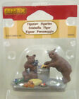 LEMAX #82623 BEAR BUFFET FIGURINE * CHRISTMAS VILLAGE ACCESSORY * BRAND NEW