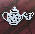 8 Pcs Paper Die Cuts Teapot And A Cup Cardmaking Scrapbooking Embellishment