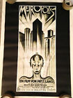METROPOLIS 1927 24x34 Movie Poster From 1996 Silent Classic Fritz Lang