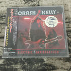 Crash Kelly ‎– Electric Satisfaction SBCD-1045 JAPAN CD OBI