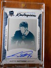 1 1 2016-17 THE CUP AUSTON MATTHEWS MASTERPIECES PRINTING PLATE ROOKIE AUTOGRAPH