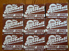 9 Box Lot 1990 Topps Traded Series baseball cards 1-T to 132-T Fast!! MLB 90