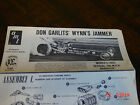 AMT Don Garlits' Wynn's Jammer Model Kit instruction sheet /sheets / book 2167-6