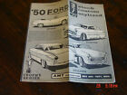 AMT 1950 Ford Convertible Model Kit instruction sheet /sheets / book T1-150