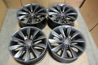 Used 2012 2017 21 Tesla Model S OEM Wheels w Tires 1017337 00 a