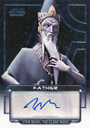 2012 Topps Star Wars Galactic Files Autographs Guide 30