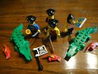 Vintage LEGO Pirate minifigures, crocodiles... and extras!