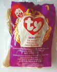 DOBY THE DOBERMAN TY TEENIE BEANIE BABIES  #1 McDONALDS 1998 HAPPY MEAL TOY; NIP