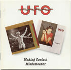 Making Contact/Misdemeanor by UFO (CD, Jul-1996, 2 Discs, Beat Goes On)