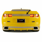 Trunk Lid Plate Synergy Green SS Inlay for 2010 2013 Camaro Polished