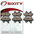 Front + Rear Ceramic Brake Pads 2003 Harley Davidson XL883R Sportster 883 rs