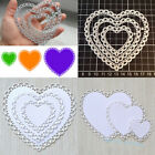Lace Heart Metal Cutting Dies Stencil Embossing Craft Die Cuts Stamps Cards xkj