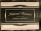 2017 NATIONAL TREASURES JIMMIE JOHNSON AUTO 6 RELIC BOOKLET 10 16