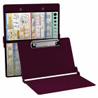 Authentic Whitecoat Clipboard - Any Edition - Medical Clipboard - Wine Color