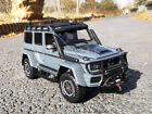 Mercedes Benz G500 4X4 Brabus550 SUV Metal Diecast Model Car 118 Scale Gray