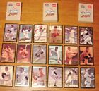 Lot of 3 Complete Boxes 1993 Amoco Ultimate All Stars Embossed Baseball Cards