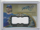 2013 Topps Triple Threads Unity Relic Autograph R.A. DICKEY AUTO! BLUE JAYS 99