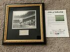 BABE RUTH AUTOGRAPH AUTO SIGNATURE CUT PICTURE FRAMED YANKEES PSA LOA CERTIFIED