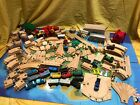Thomas Train Wooden Railway, Tracks, Adapters, Switches, Risers Blocks, Signs...