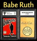 Cheap Vintage Babe Ruth Cards - 10 Cards for Under $50 20