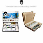 Bob Ross Master Artist Oil Paint Set Includes Storage Case Sketchbox  Palette