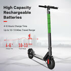 Folding Electric Scooter with Large Wheels Powerful 36V Long Range Black