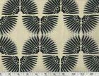 Black Print Upholstery Fabric by PK Lifestyles Waverly Urban Caterpillar Putty