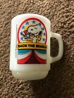 Anchor Hocking Vintage Peanuts VOTE FOR SNOOPY Back the Beagle Mug 1980 Series1