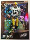 2019 Panini Black Friday Pack Aaron Rodgers Bubble Prizm Refractor 3 5