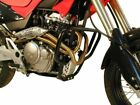 Honda FMX 650 Engine protection bar Black BY HEPCO AND BECKER