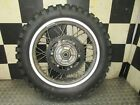 01 2001 bmw dakar f650 gs f 650 f650gs rear wheel rim hub disk rotor sprocket